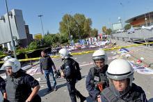 На месте теракта. Фото: Reuters