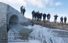 Запуск морской воды в Куяльницкий лиман. Архивное фото