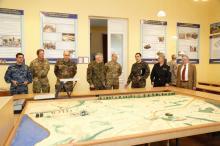 Делегация НАТО в Одесской военной академии. Фото пресс-центра Минобороны