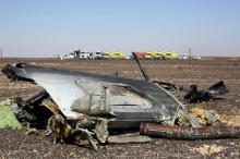 Место падения Airbus A321. Фото: Reuters