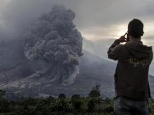 Извержение вулкана в Индонезии (архив). Getty Images. Фото: У.Ифансасти