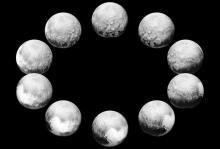 День Плутона. Изображения: NASA