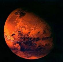 Марс. Изображение: NASA