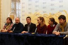 На презентации проекта. Фото Олега Владимирского