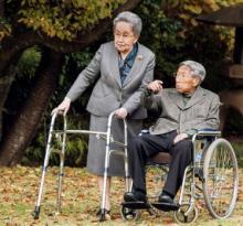 Принц Микаса и его супруга Юрико. Фото The Asahi Shimbun