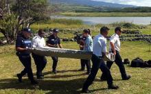 В июле на острове Реюньон был найден обломок крыла лайнера