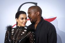 Ким Кардашьян и Канье Уэст. Фото: Lucas Jackson / Reuters