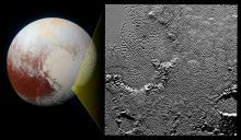 Расположение фрагмента региона Томбо на Плутоне. Фото: NASA / JHUAPL / SwRI
