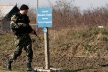 На приднестровском участке украино-молдовской границы. Фото (архивное) Евгения Волокина