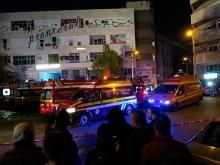 На месте пожара в клубе Colectiv. 30 октября 2015 года. Wikipedia.org . Фото: Gsvadds