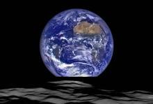 Снимок Земли Фото: NASA / Arizona State University