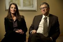 Мелинда и Билл Гейтсы. Фото: Seth Wenig / AP