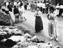 В Корее во время Второй мировой.