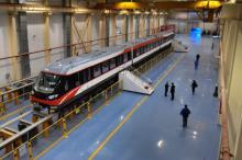 Поезд на магнитном подвесе в Чанша  Фото: Xinhua / Zumapress / Global Look
