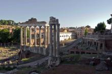 Руины Форума в Риме. Фото: Александр Потапов / «Коммерсантъ»