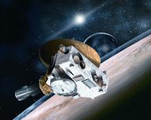 New Horizons. Иллюстрация с сайта http://elementy.ru.