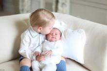 Принц Гарри и принцесса Шарлотта