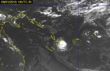 Изображение с сайта Vanuatu Meteorological Services