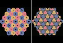 Хореографический двумерный кристалл. Изображение: L. Boyle et al