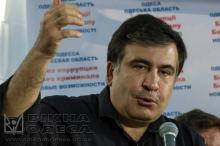 М. Саакашвили. Фото Олега Владимирского.