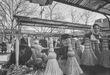 На рынке. Фотограф Илья Гершберг