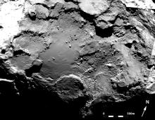 Фото ESA/Rosetta/MPS for OSIRIS Team MPS/UPD/LAM/IAA/SSO/INTA/UPM/DASP/IDA