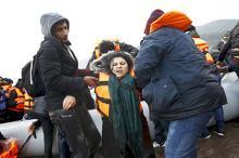 Спасательная операция, Греция, 22 января 2016 года. Фото: Giorgos Moutafis / Reuters