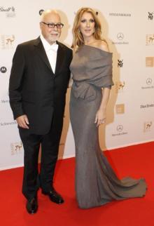 Селин Дион с мужем. Фото с сайта celinefan.org.