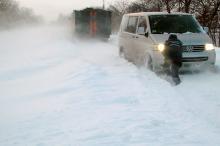 Дорога в Одесском регионе. Фото облуправления ГСЧС.