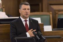 Президент Латвии. Фото с сайта www.lsm.lv.