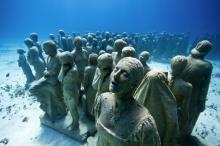 Подводный музей в Канкуне. Фото с сайта batona.net.
