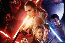 Фрагмент постера к фильму «Звездные войны: Пробуждение силы»