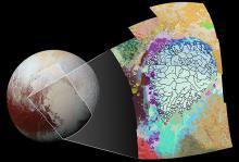 «Сердце» Плутона.  Изображение: NASA / JHUAPL / SwRI