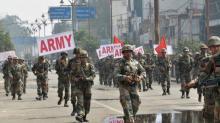 Войска получили приказ в случае необходимости открывать огонь по демонстрантам
