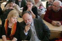 Создание координационного совета по спасению архива. Фото Вячеслава Тенякова