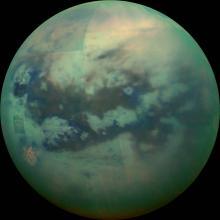 Титан. Фото: NASA