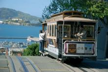 Трамвай в Сан-Франциско (Калифорния)