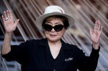 Йоко Оно. Фото АР с сайта Лента Ру
