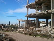 В районе города Дараа (Сирия), февраль 2016 года. Фото с сайта newsru.co.il, предоставлено Хамзой Р.