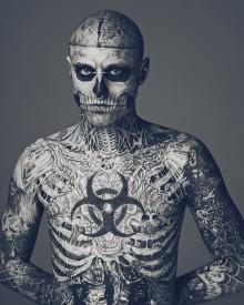Зомби-бой — татуированный канадец Рик Дженест