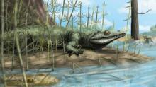 Teyujagua paradoxa походила на крокодила и обитала у пресноводных водоемов. Изображение: Voltair Neto