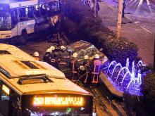 На месте теракта. 13 марта 2016 года. Getty Images. Фото: Д.Карадениц