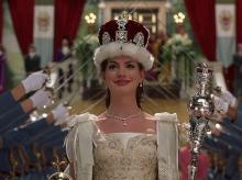Кадр из фильма «Дневники принцессы»
