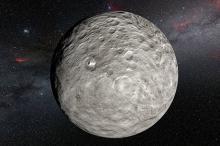 Церера. Фото: ESO/L.Calçada/NASA/JPL-Caltech/UCLA/MPS/DLR/IDA/Steve Albers/N.