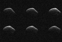 Комета P/2016 BA14 Фото: NASA