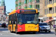Автобус в Копенгагене