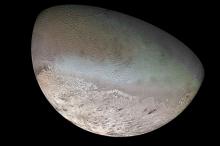 Тритон. Фото: U.S. Geological Survey / Jet Propulsion Lab / NASA
