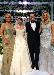 Свадьба Г. Юдашкиной. Фото с сайта kasjauns.lv.