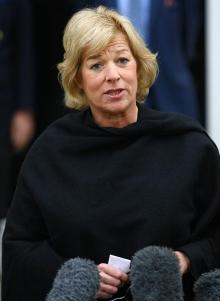 Кэрол Тэтчер, дочь экс-премьера Британии. Фото с thesun.co.uk