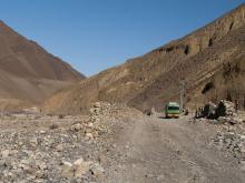 Туристический автобус в Непале (иллюстрация). iStock/thinkstockphotos.com. Фото: Chunumunu